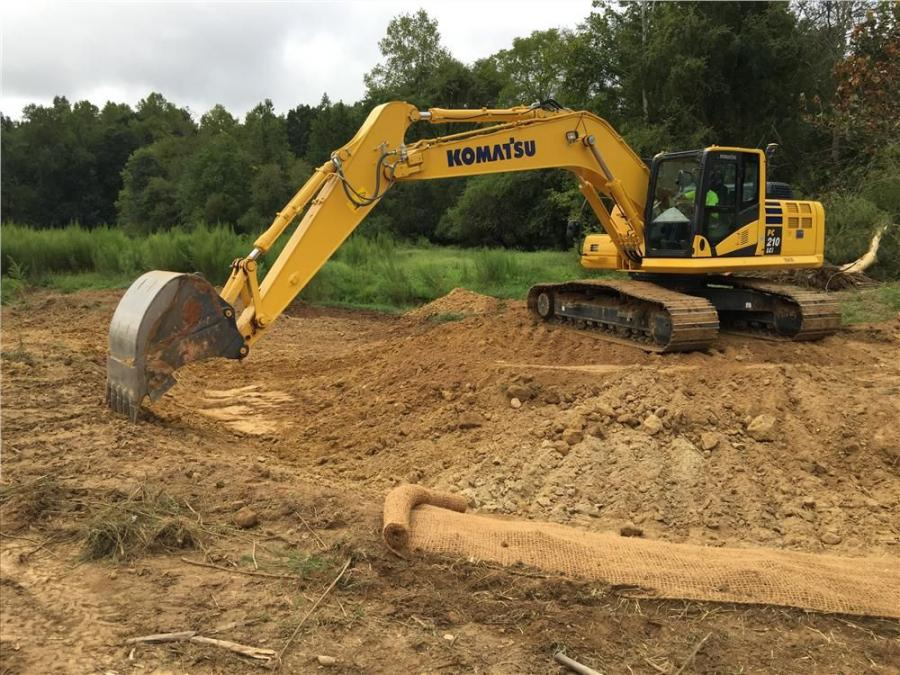 Wright Contracting Tackles Wetland Mitigation Project